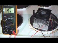 Преобразование тепла в электричество своими руками