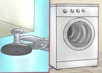 Почему прыгает стиральная машина при стирке