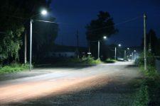 Уличное освещение в сельской местности