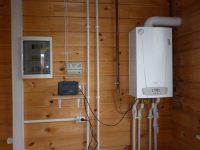 Работа газового котла при отключении электричества