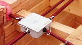 Скрытая проводка в деревянном доме ПУЭ