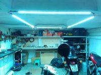Автономное освещение гаража