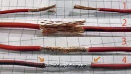 Максимальное количество проводов в скрутке