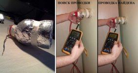 Как найти повреждение проводки в стене