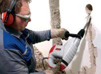 Как штробить бетонную стену под проводку