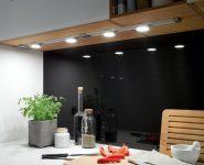 Кухонные светильники для освещения столешницы