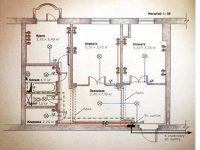 Электросхема квартирной проводки