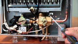 Почему не зажигается газовая колонка вектор