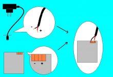 Как зарядить аккумулятор телефона проводами от зарядки