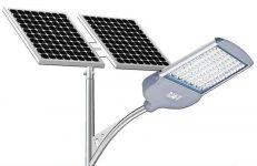 Светодиодные светильники уличного освещения на солнечных батареях