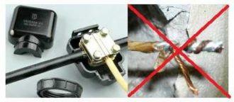 Соединение медного и алюминиевого провода правила