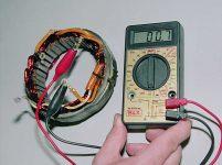 Как проверить обмотку генератора тестером