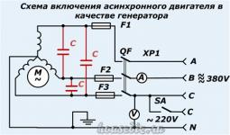 Может ли асинхронный двигатель работать как генератор