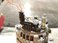 Высокое напряжение генератора автомобиля