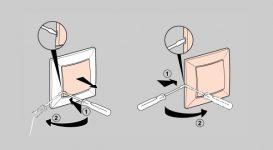Как разбирается выключатель света