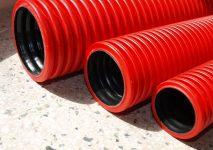Гофра для подземной прокладки кабеля