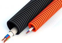 Гофра для уличной прокладки кабеля