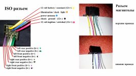 Провода на магнитоле цвета какие куда