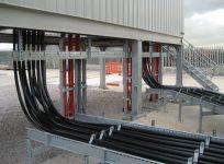 Прокладка взаиморезервируемых кабелей в лотках
