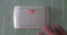 Как правильно установить выключатель с подсветкой