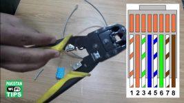 Как установить коннектор на интернет кабель